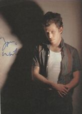 Tom Waits Autogramm signed A4 Magazinbild