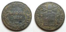 1836 Bologna  Pope Gregorio XVI  Baiocco