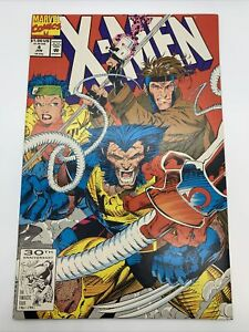1991 Marvel Comics X-Men #4 1st Appearance Omega Red Animated Series
