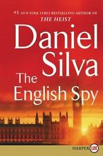 Gabriel Allon Ser.: The English Spy by Daniel Silva (2015, Trade Paperback, Large Type / large print edition)