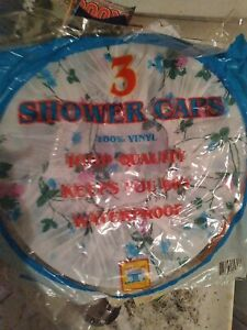 Shower caps vintage