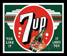 7UP DECAL NORTHWESTERN GUMBALL NUT VENDING MACHINE (a)