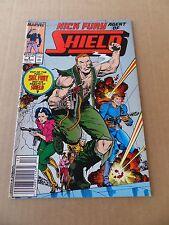 Nick Fury , Agent of S.H.I.E.L.D 4 . Marvel .1989 -  FN +