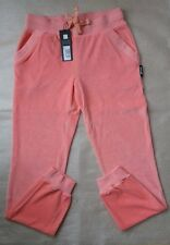 Just Cavalli Pink Velour Jogging Bottoms size M