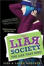 The Lies That Bind (The Liar Society)-ExLibrary