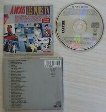 RARE CD ALBUM A NOUS LES PUBS TV 13 TITRES 1988