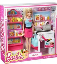 Barbie Malibu Ave Negozio di alimentari con Barbie doll playset-CKP77 ti CLG06