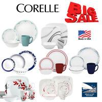 Corelle Vitrelle Kitchen Design Dinnerware 16 Pcs Set Service Cup Plates Dinner