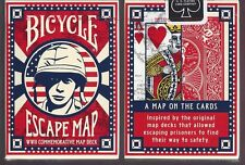 1 DECK Bicycle Escape Map playing cards