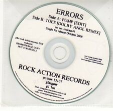 (EH702) Errors, Pump / Toes - 2008 DJ CD