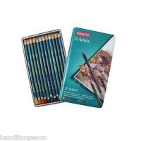 DERWENT ARTISTS TIN of 12 blendable colour pencils