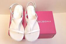 NIB BCBGirls BG-INGRIDS White Sandals Size 7.5M