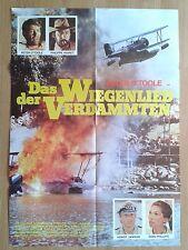 MURPHY's WAR  Aviation rare German 1-sheet poster 1971 PETER O'TOOLE Peter Yates