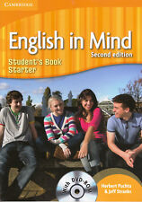Cambridge ENGLISH IN MIND STARTER Student's Book SECOND EDITION with DVD-ROM New