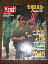Paris Match N° 1787 26/8/1983 Tchad PPDA Sylvia Kristel  pape Date anniversaire