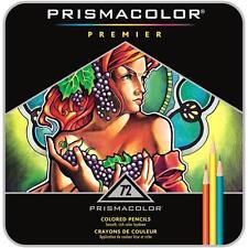Prismacolor Premier Colored Pencils - Metal Tin Gift Set - 72 Color Set