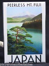 "Mt. Fuji / Japan Vintage Travel Poster 2"" X 3"" Fridge / Locker Magnet."