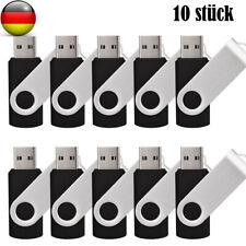 1/5/10xUSB 2.0Memory Stick-Schwenklaufwerk U Disk USB-Flash-Laufwerk Schwarz Lot