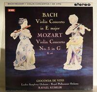 GIOCONDA DE VITO - BACH & MOZART [LP] reissue of ASD 429 **Near Mint **