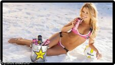 Rockstar Energy Drink Sexy Model On Beach Refrigerator Magnet