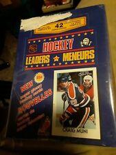 1986-87 O-pee-chee Hockey Leaders Gretzky Unopened Box