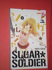 sugar soldier- N°5-1° edizione -di mayu sakai MANGA PANINI autrice rockin heaven