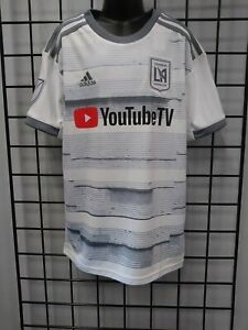 adidas 2019 LAFC YOUTH AWAY JERSEY (DP3978) SIZE YM