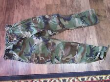U.S. Army Issue Woodland Cam Trousers.