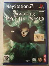 THE MATRIX PATH OF NEO    PAL ITA PS2 - VERSIONE ITALIANA  PRIMA STAMPA