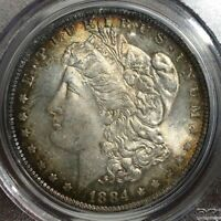 1884 O PCGS MS62 Morgan Silver Dollar $1 ~ Superb Strike Luster & Toned Patina