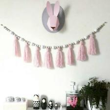 New Sweet Wood Beads Tassel Hanging Bunting Garland  Baby Bed Room