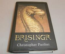 BRISINGR by Christopher Paolini, 1st Edition HARDBACK