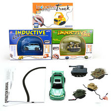 Magic Pen Inductive Car Follow Any Drew Line Kid Toy Inductive Truck Bus Tank