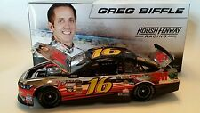 2013 GREG BIFFLE ACTION LIONEL 3M GKAS POLISHED NICKEL 1:24 SCALE NASCAR DIECAST