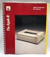 Apple Imagewriter Dot Matrix Printer Apple II II+ IIC III User's Manual 1984