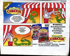 Wissoll -  Fruchtgummi -- Gummy Circus -- Werbung von 1987-- Nessy --