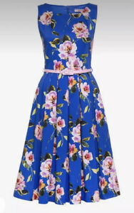 Review Size 12 💐 Alouette Prom Dress 💐with pink belt