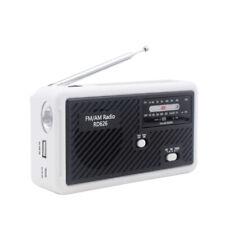 Dynamo Wind Up, Solar, & USB Rechargeable Portable AM FM Radio + Warranty