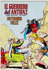 EL GUERRERO DEL ANTIFAZ (Reedición color) nº: 237.  Valenciana, 1972-1978.