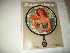 Esquire Magazine 5/57 Tina Louise fiction art pinups F/VF Condition
