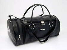 HEAD Monte Carlo Faux Leather Holdall in Black