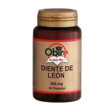 DIENTE DE LEON 300 MG 60 CAPS OBIRE Diuretico Digestivo Ayuda al riñon