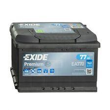 Exide Premium CARBON BOOST EA770 Autobatterie 12V 77Ah Starterbatterie