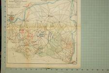 MAP/BATTLE PLAN JULY 22 1812 SALAMANCA MARMONT MANOEUVRE BRADFORD BOYER PAKENHAM