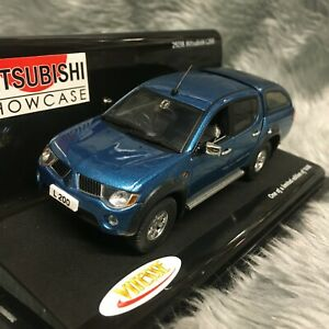 Vitesse 1:43 Mitsubishi L200 Pickup Medium Blue Mica Metallic 29238