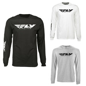 Fly Racing Men's Corporate Long Sleeve Tee Shirt