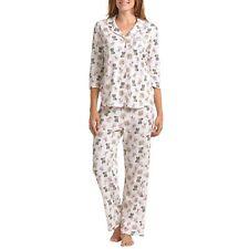 Karen Neuburger Doggie Love Pajamas Womens XL Cream w/Dog Print NWT Adorable!