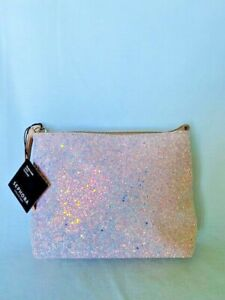NEW  SEPHORA COLLECTION Ocean Crush Pink Clutch  New With Tags