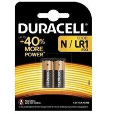 Pack 2 Pilas Cilindricas Original DURACELL N / LR1 (e90) de 1,5V Litio b84