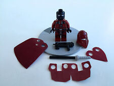 "Custom Lego Star Wars ""Royal Sith Guard"" + CUSTOM Accessoires"